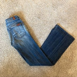 7 For All Mankind Flare Jeans | 25